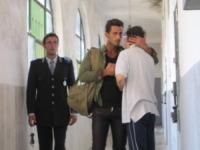 Fabrizio Corona - Roma - 10-08-2009 - Fabrizio Corona si è costituito a Lisbona