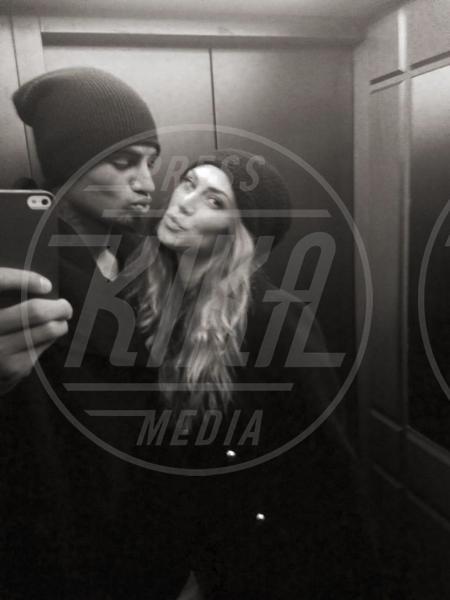 Kevin-Prince Boateng, Melissa Satta - Milano - 19-01-2013 - Dillo Con un Tweet: Satta-Boateng a cena in casa De Jong