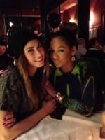 Melissa Satta - Milano - 19-01-2013 - Dillo Con un Tweet: Satta-Boateng a cena in casa De Jong