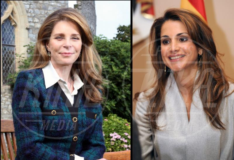 Noor di Giordania, Rania di Giordania - Principesse di ieri e di oggi