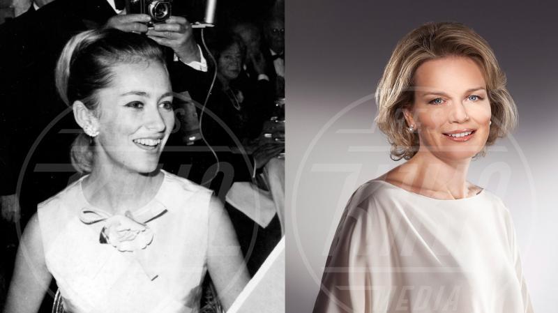 Mathilde  del Belgio, Regina Paola del Belgio - Principesse di ieri e di oggi