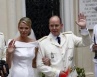 Principe Alberto di Monaco, Principessa Charlene Wittstock - Monaco - 02-07-2011 - Kate Middleton e le altre: da Cenerentola a principessa