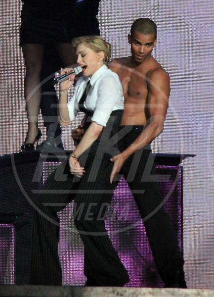 Brahim Zaibat, Madonna - Milano - 14-06-2012 - Madonna spara nel nuovo Secret Project: il trailer