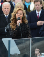 Joe Biden, Beyonce Knowles - Washington - 21-01-2013 - Obama, cerimonia d'insediamento per il secondo mandato