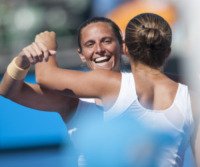 Sara Errani, Roberta Vinci - Melbourne - 22-01-2013 - Errani-Vinci trionfano sull'erba di Wimbledon