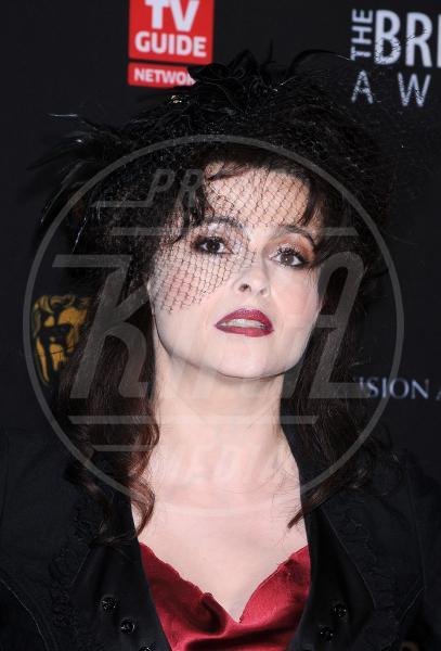 Helena Bonham Carter - Beverly Hills - 30-11-2011 - Il fascino retrò del cappello con veletta