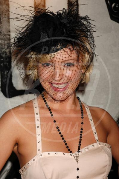 Jessica Sugar Kiper - Hollywood - 22-10-2009 - Il fascino retrò del cappello con veletta