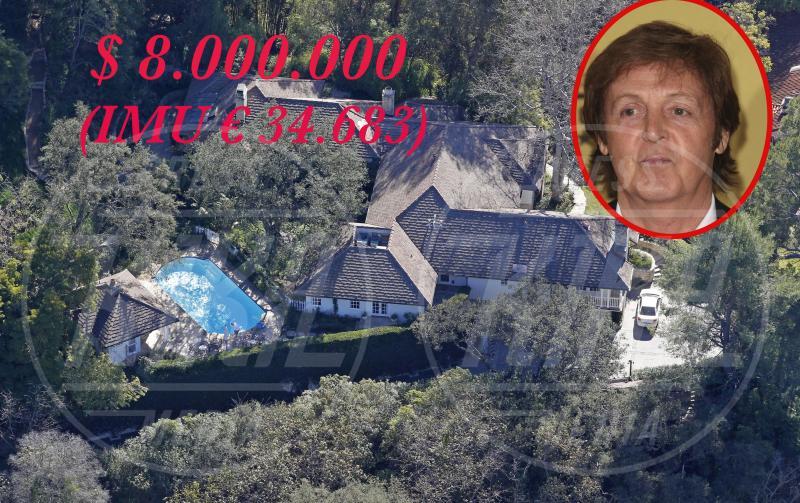 Villa Paul McCartney - Los Angeles - 24-01-2013 - Se a Hollywood ci fosse l'IMU…