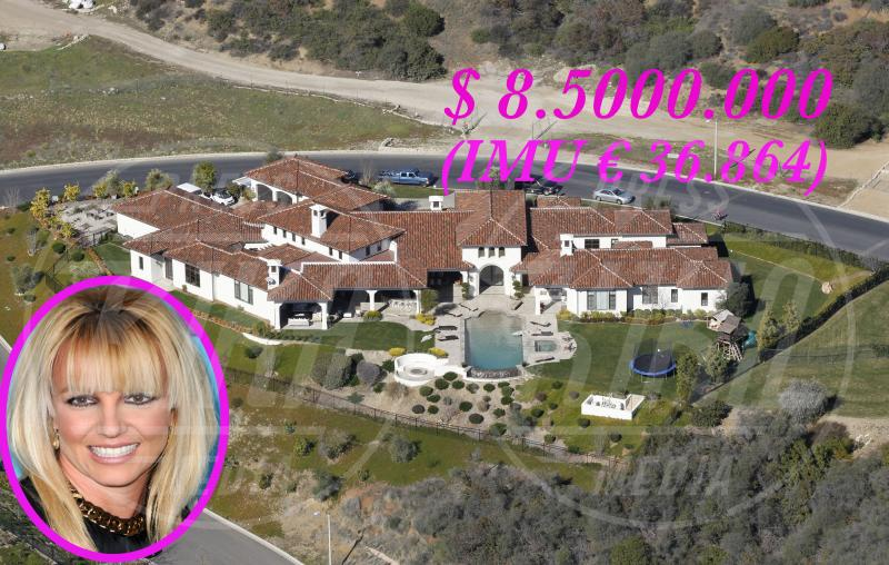 Villa Britney Spears - Los Angeles - 23-01-2013 - Se a Hollywood ci fosse l'IMU…