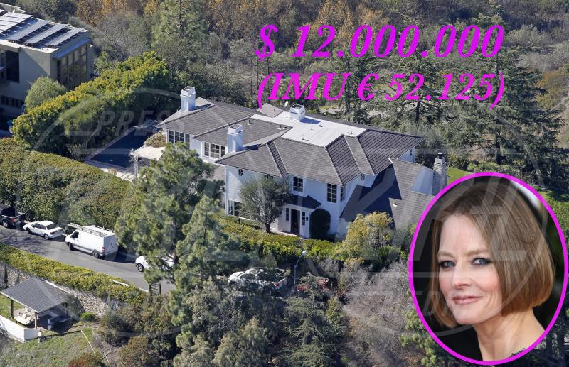 Villa Jodie Foster - Los Angeles - 23-01-2013 - Se a Hollywood ci fosse l'IMU…