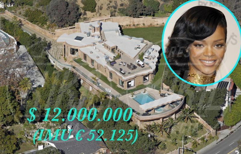 Casa Rihanna - Los Angeles - 23-01-2013 - Se a Hollywood ci fosse l'IMU…