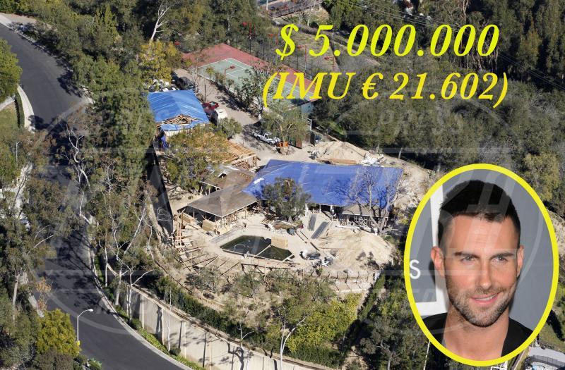 Villa Adam Levine - Los Angeles - 23-01-2013 - Se a Hollywood ci fosse l'IMU…