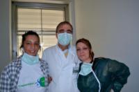 Lucia Marra, Valentina Villivà - ospedale San Matteo - 24-01-2013 - Lucia, disoccupata, dona rene a figlia e l'ospedale paga tutto