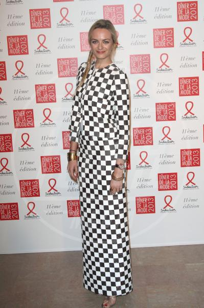 Virginie Courtin-Clarins - Parigi - 25-01-2013 - Sul red carpet, l'optical è… l'optimum!
