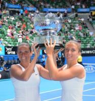 Sara Errani, Roberta Vinci - Melbourne - 31-03-2012 - Errani-Vinci trionfano sull'erba di Wimbledon