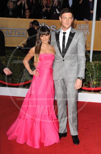 Cory Monteith, Lea Michele - Los Angeles - 27-01-2013 - Le star che non sapevi fossero rimaste vedove da giovani