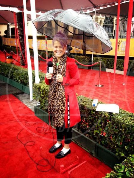 Kelly Osbourne - 27-01-2013 - La primavera non arriva. E tu, di che ombrello sei?