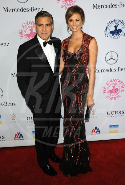 Stacy Keibler, George Clooney - Beverly Hills - 20-10-2012 - Talia Balsam: ma che hai fatto a George Clooney?