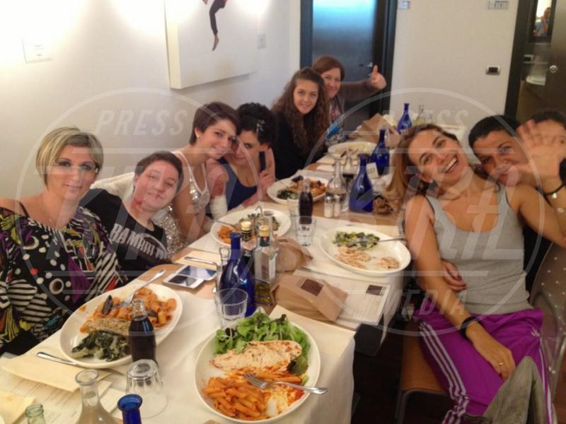 Barbara D'Urso - Milano - 06-12-2012 - Rivali sul set? No, amiche per la pelle!