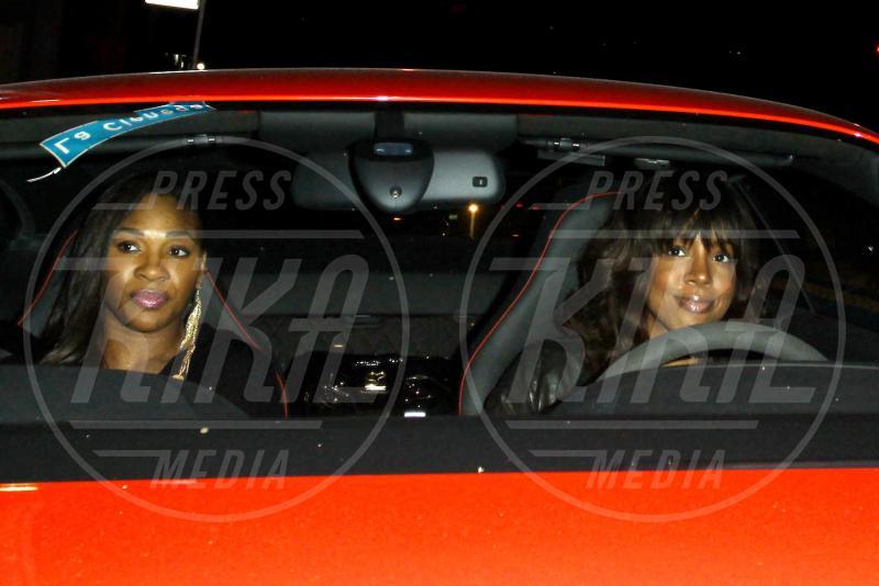 Kelly Rowland, Serena Williams - Los Angeles - 15-03-2011 - Rivali sul set? No, amiche per la pelle!