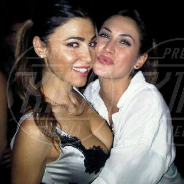 Cecilia Capriotti, Melissa Satta - Milano - 08-02-2012 - Rivali sul set? No, amiche per la pelle!