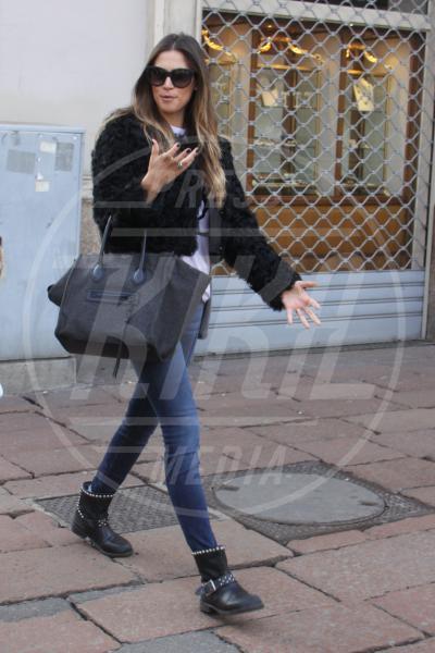 Melissa Satta - Milano - 29-01-2013 - Donne con le borchie: sesso debole a chi?