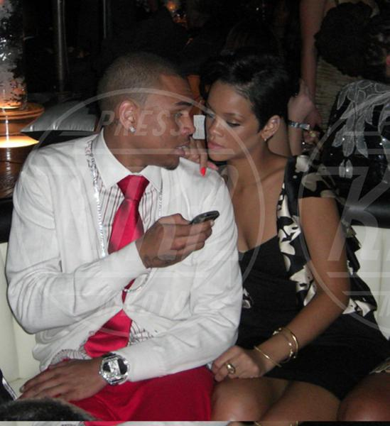 Chris Brown, Rihanna - Los Angeles - 10-02-2008 - Rihanna e Chris Brown, la faida sui social network continua