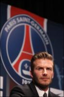 David Beckham - Parigi - 31-01-2013 - David Beckham annuncia il suo ritiro dal calcio