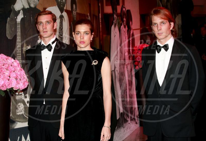 Pierre Casiraghi, Charlotte Casiraghi, Andrea Casiraghi - Monaco - 19-03-2011 - Il mondo è bello vicino a mio fratello