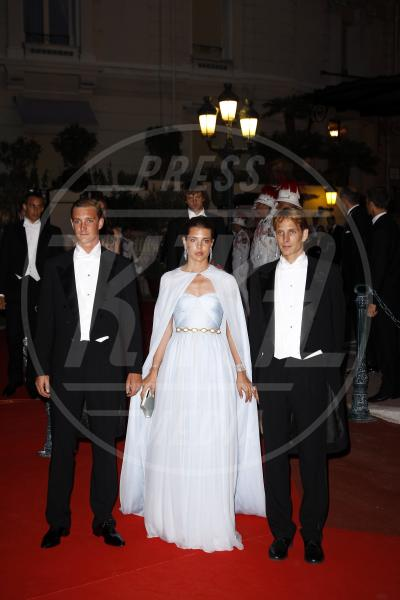 Pierre Casiraghi, Charlotte Casiraghi, Andrea Casiraghi - Montecarlo - 02-07-2011 - Il mondo è bello vicino a mio fratello