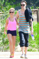 Christopher French, Ashley Tisdale - Hollywood - 03-02-2013 - Ashley Tisdale e Christopher French si sono sposati