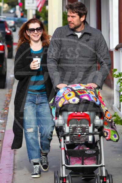 Keeva Denisof, Alexis Denisof, Alyson Hannigan - Los Angeles - 29-01-2013 - A tre ruote, colorato o tutto blu: a ognuno il suo passeggino