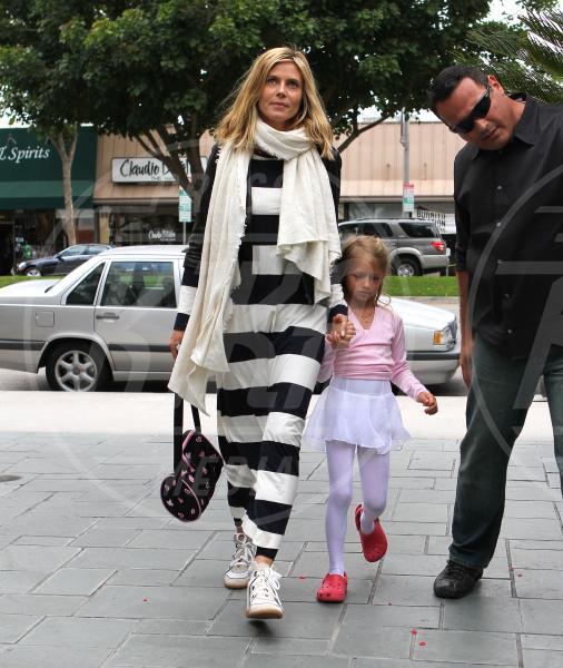 Leni Samuel, Heidi Klum - Brentwood - 04-06-2011 - Tendenza 2013: vincono le mise… sopra le righe