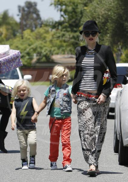 Zuma Rossdale, Kingston Rossdale, Gwen Stefani - Los Angeles - 10-06-2012 - Tendenza 2013: vincono le mise… sopra le righe