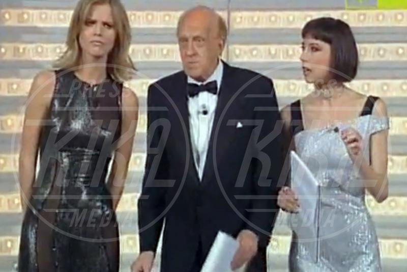 Raimondo Vianello, Veronica Pivetti, Eva Herzigova - Sanremo - 04-02-2013 - Emma e Arisa, da vincenti a vallette di Sanremo 2015?