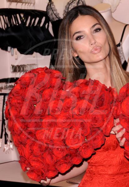 Lily Aldridge - New York - 06-02-2013 - Gli angeli di Victoria's Secret augurano un buon San Valentino