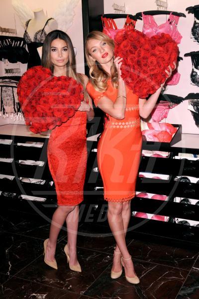 Lily Aldridge, Candice Swanepoel - New York - 06-02-2013 - Gli angeli di Victoria's Secret augurano un buon San Valentino