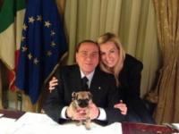 Michaela Biancofiore, Silvio Berlusconi - 04-01-2013 - McDonald's: al tavolo c'è Silvio Berlusconi