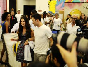 Megan Fox, Brian Austin Green - Rio de Janeiro - 10-02-2013 - Star Come Noi: come fare il turista in Brasile