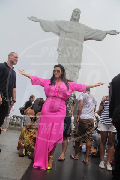 Kim Kardashian - Rio de Janeiro - 10-02-2013 - Look pre maman: da Kim Kardashian a Kate Middleton