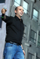 Checco Zalone - Milano - 31-01-2012 - Fiocco rosa per Checco Zalone: è nata Gaia