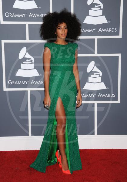 Solange Knowles - Los Angeles - 09-02-2013 - Grammy Awards 2013: il red carpet si fa sexy