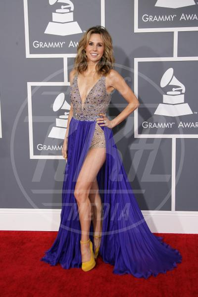 Keltie Colleen - Los Angeles - 10-02-2013 - Grammy Awards 2013: il red carpet si fa sexy