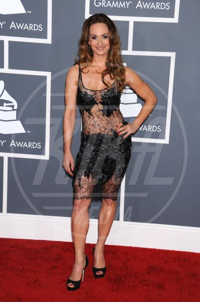 D'Manti - Los Angeles - 09-02-2013 - Grammy Awards 2013: il red carpet si fa sexy