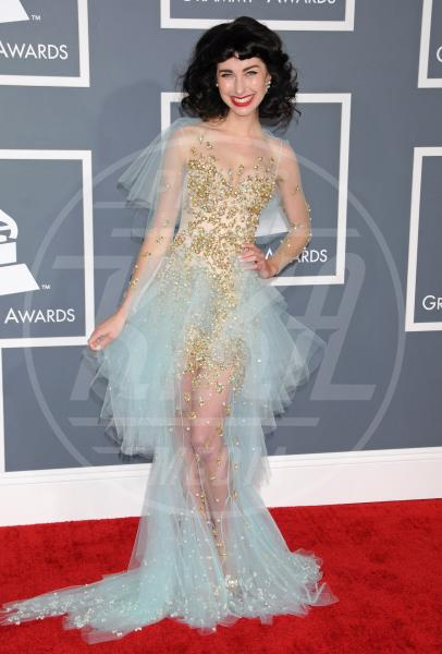 Kimbra - Los Angeles - 10-02-2013 - Grammy Awards 2013: il red carpet si fa sexy