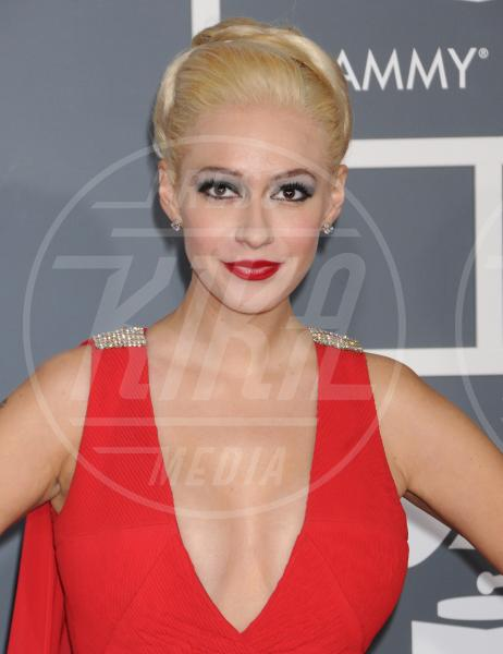 Kaya Jones - Los Angeles - 10-02-2013 - Grammy Awards 2013: il red carpet si fa sexy