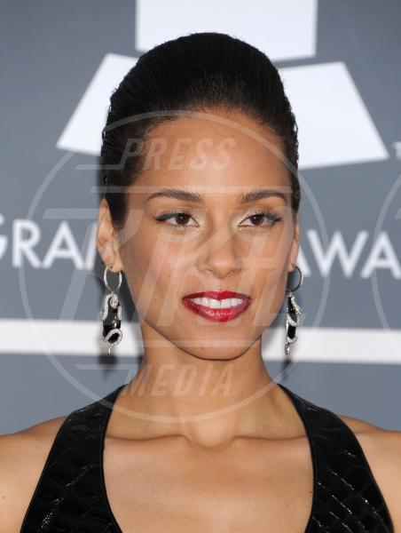 Alicia Keys - Los Angeles - 09-02-2013 - Grammy Awards 2013: i trucchi delle star