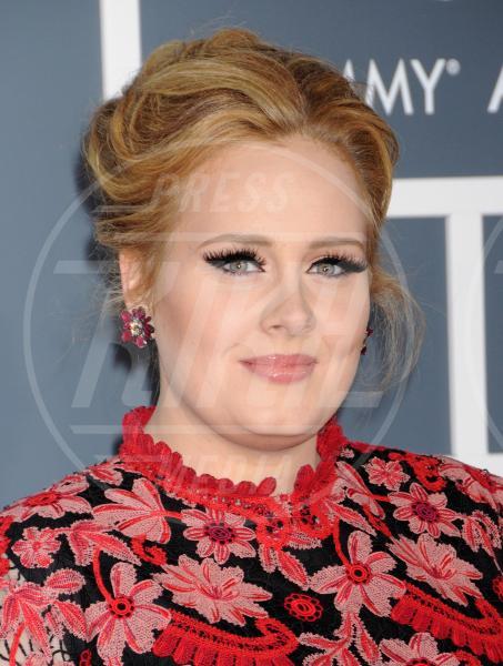 Adele - Los Angeles - 10-02-2013 - Grammy Awards 2013: i trucchi delle star