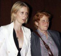 Christine Marinoni, Cynthia Nixon - 22-09-2010 - Baldwin-Delevingne: la bandiera arcobaleno sempre più in alto