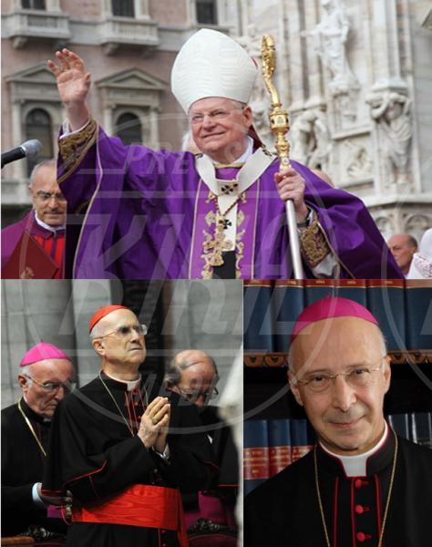 Angelo Scola, Tarcisio Bertone, Angelo Bagnasco - Scola, Bagnasco e Bertone: chi sarà il nuovo Papa?
